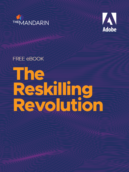 eBook: The reskilling revolution image