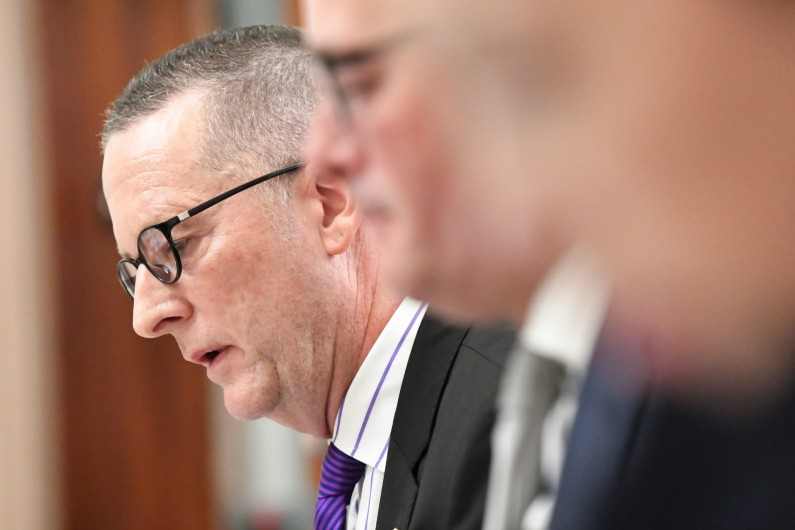 Victoria's top bureaucrat Chris Eccles resigns