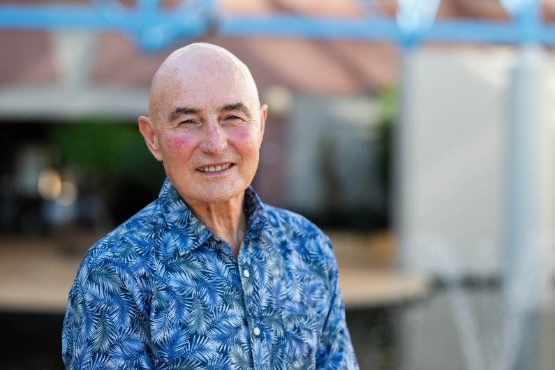 Hugh Heggie: pandemic policy advisor making a difference