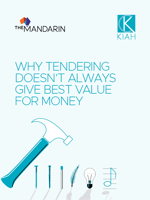 eBook: Why tendering doesn't always give best value for money image