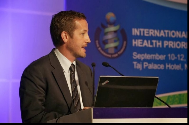Simon Cotterell: pandemic policy advisor making a difference