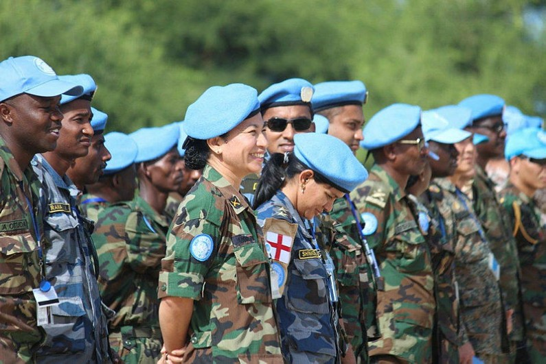 Why are so few women deployed in UN peacekeeping?