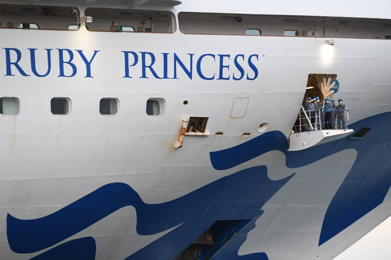 PM warned about biosecurity risks of returning vessels weeks before Ruby Princess debacle
