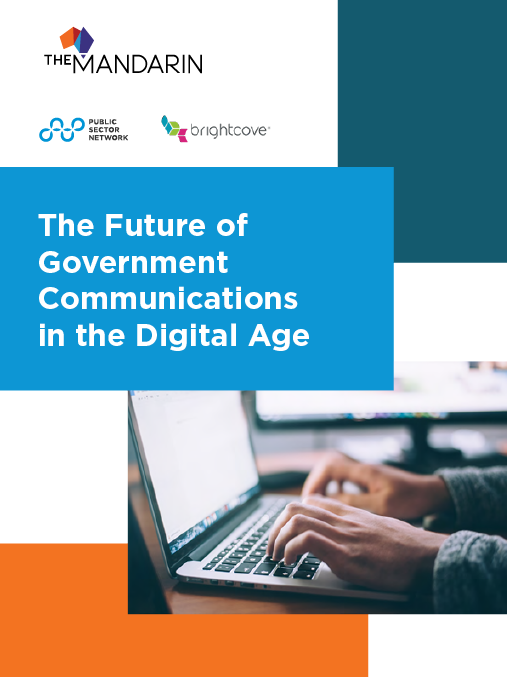 eBook: The future of government communications in the digital age image