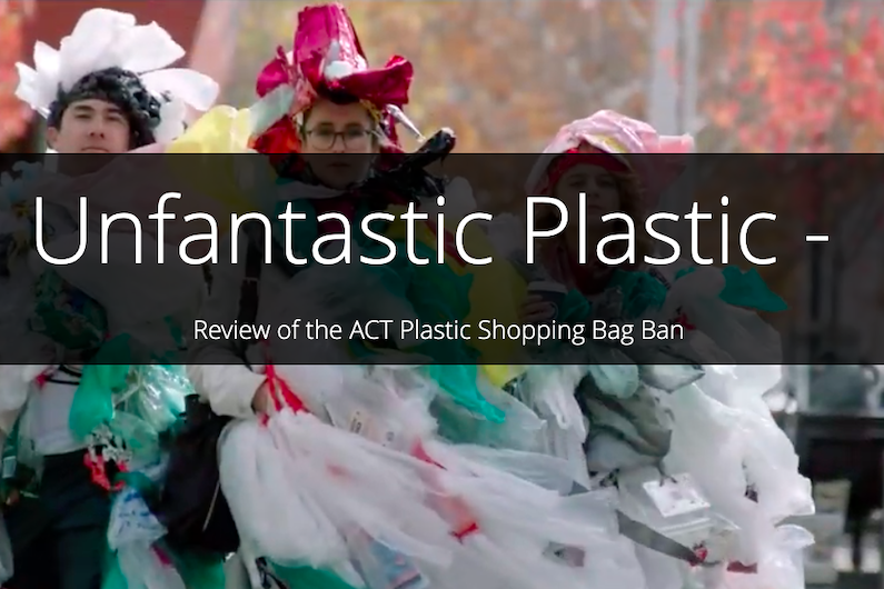 A screenshot of the dance video from the Unfantastic Plastic story map