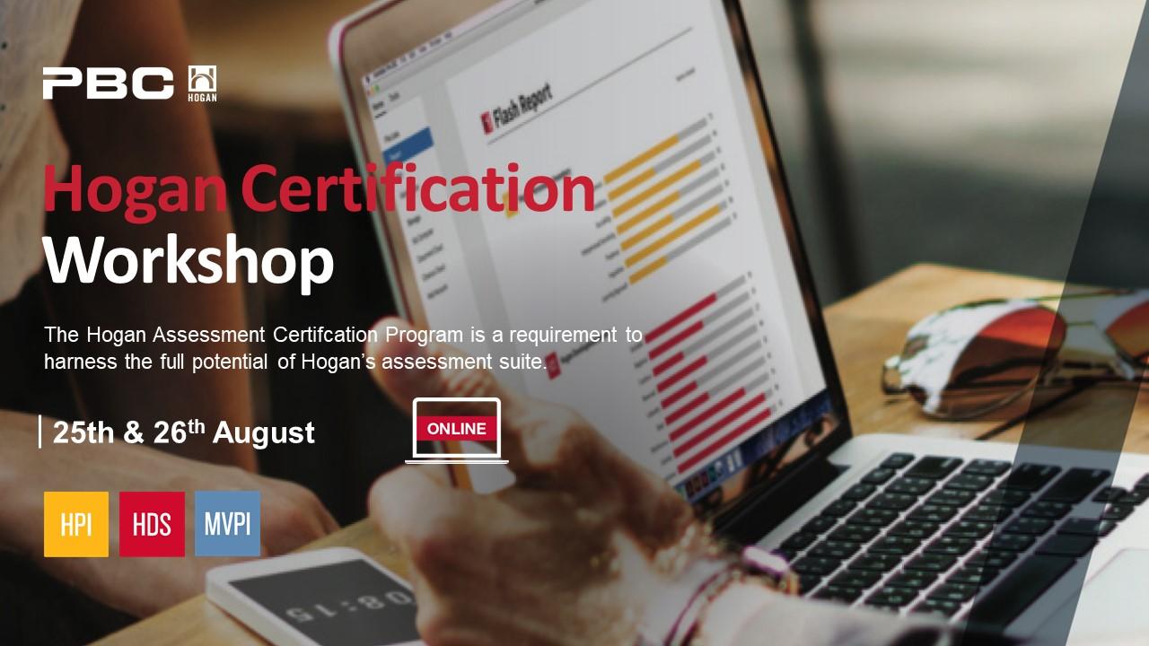 Hogan Certification Workshop for selection, talent identification and development image