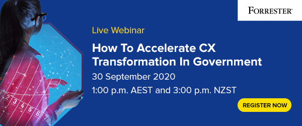 How To Accelerate CX Transformation In Government image
