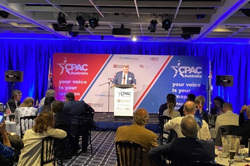 CPAC: the hard right flips the bird — and celebrates the many joys of age and rage