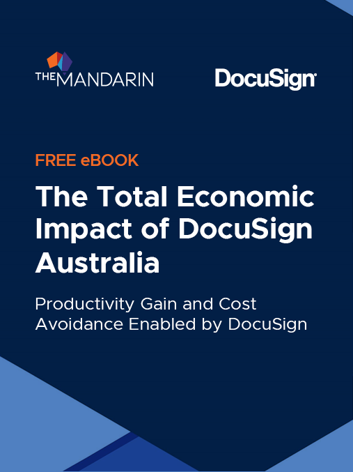 eBook: The Total Economic Impact Of DocuSign Australia image