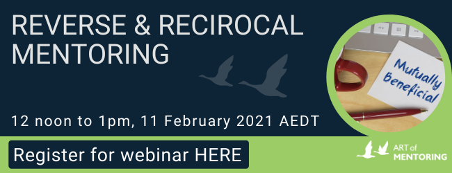 Reverse and Reciprocal Mentoring Webinar image