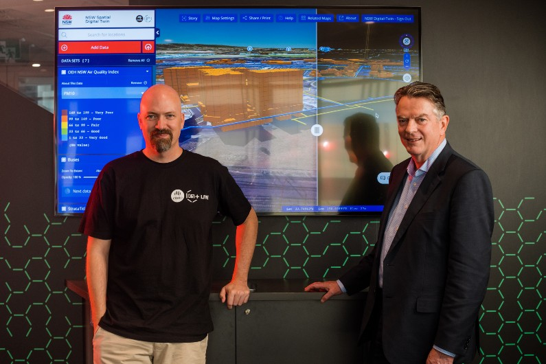 NSW digital twin to play part in emergency planning