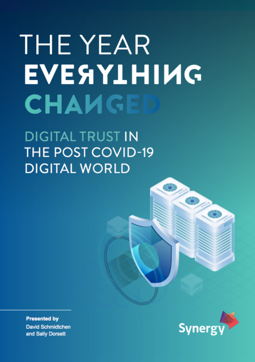 eBook: Building digital trust in the post COVID-19 world image