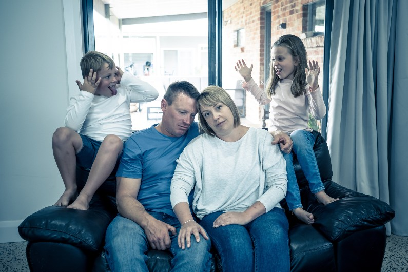 Parents with children at home reach breaking point