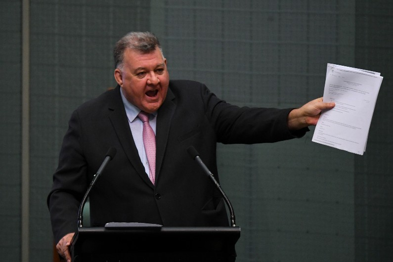 Australians want Morrison to publicly call out Craig Kelly and Trump, think tank finds