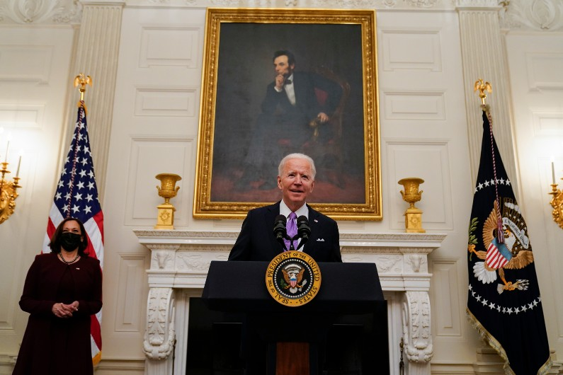 Joe Biden's first foreign policy speech – an expert explains what it means for the world
