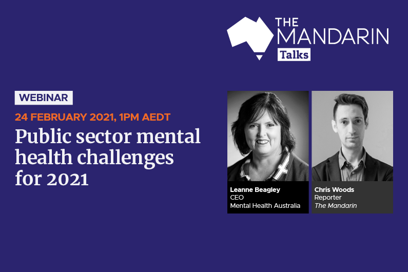 Mandarin Talks:  Public sector mental health challenges for 2021