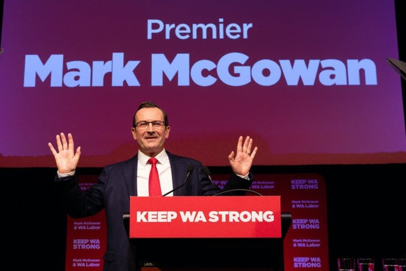 Whopping lead for Labor ahead of WA election, but federal Newspoll deadlocked at 50-50