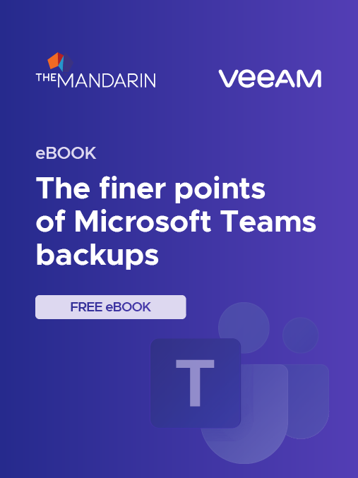 eBook: The finer points of Microsoft Teams backups