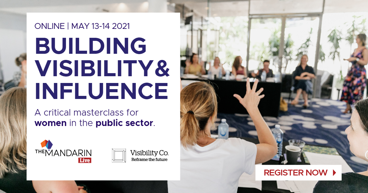 Building Visibility and Influence: A critical masterclass for women in the public sector image