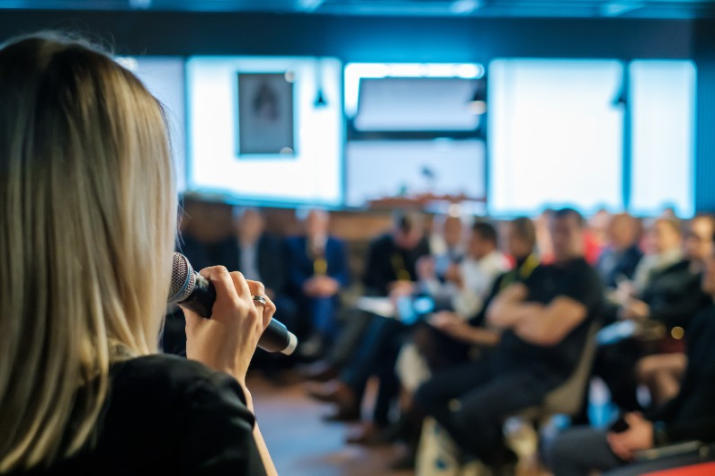 Public speaking: keeping your audience engaged