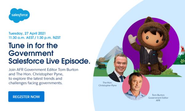 Salesforce Live (ANZ): Government Trailblazers with Tom Burton image