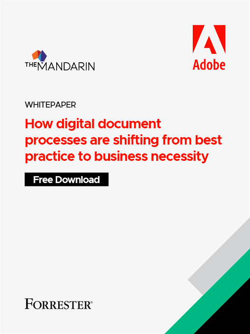 How digital document processes are shifting from best practice to business necessity