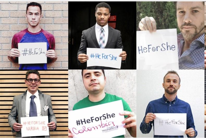 Brits share #HeForShe with Aussie public servants