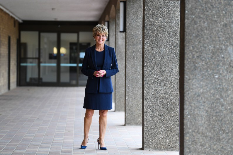 'Don't rock the boat': Julie Bishop shines light on culture at Parliament House