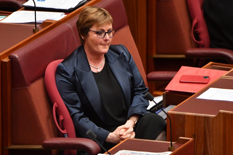 Linda Reynolds' future as defence minister is in her own hands