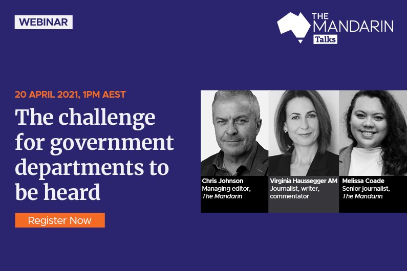 Mandarin Talks:  The challenge for government departments to be heard