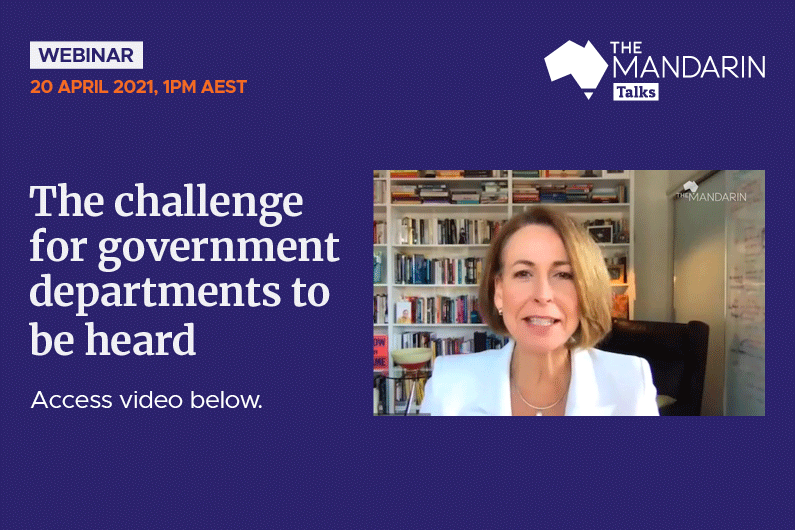 [Watch Now] Mandarin Talks:  The challenge for government departments to be heard
