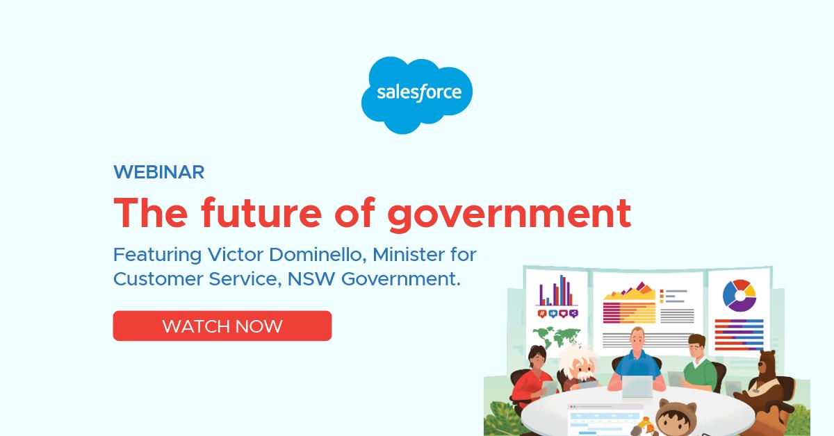 Webinar: The future of government