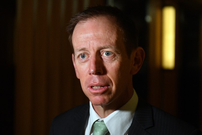 'I spent 12 months in the public service as part of the graduate program and then got recruited into Greenpeace.' An interview with Shane Rattenbury