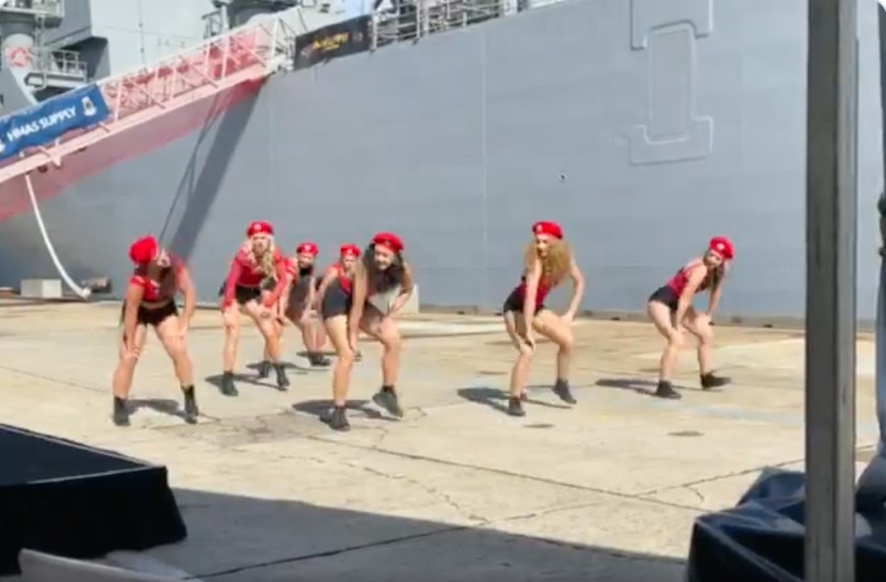 Dance troupe at centre of Navy ship furore speaks out