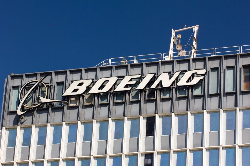 Boeing signange
