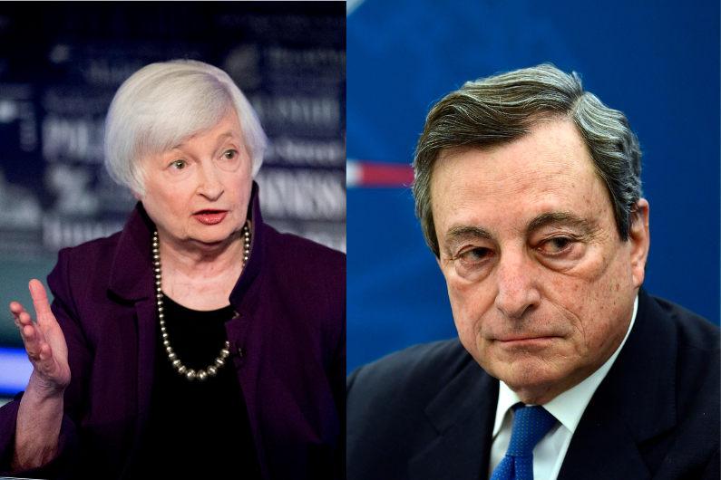 Janet Yellen and Mario Draghi have one last job