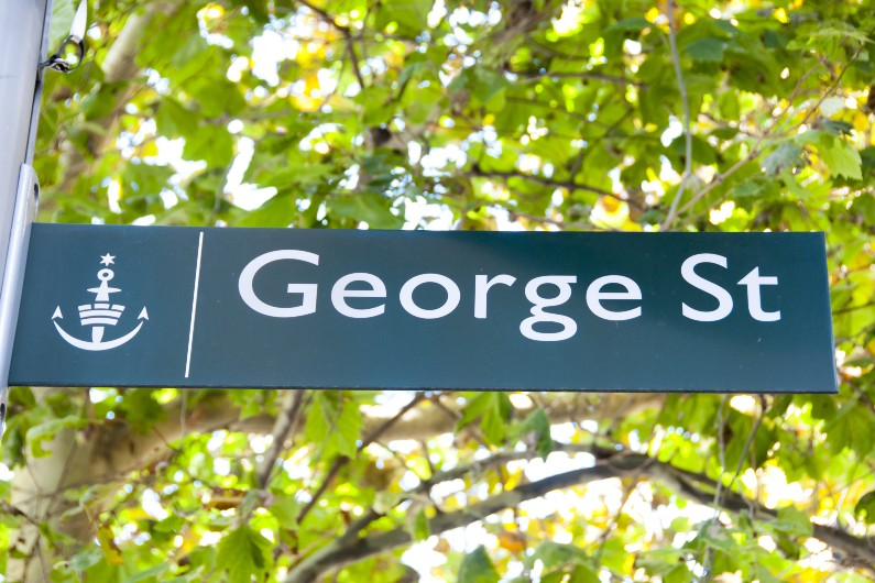 Car-free vision for Sydney's George Street