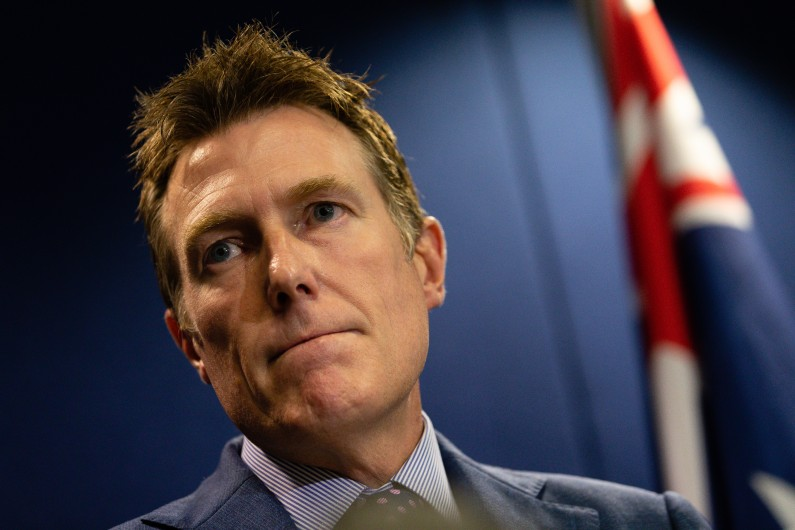 Christian Porter asks to keep ABC defence confidential in defamation suit