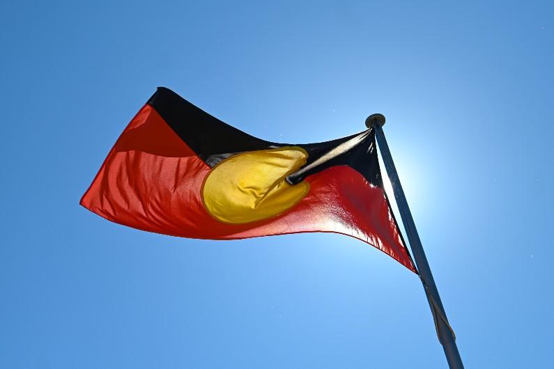 Indigenous-aboriginal flag