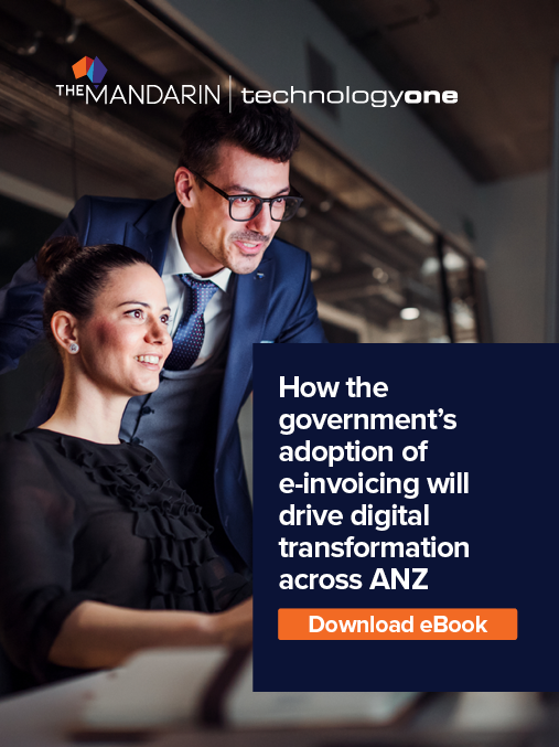 eBook: How government's adoption of e-invoicing will drive digital transformation across ANZ image