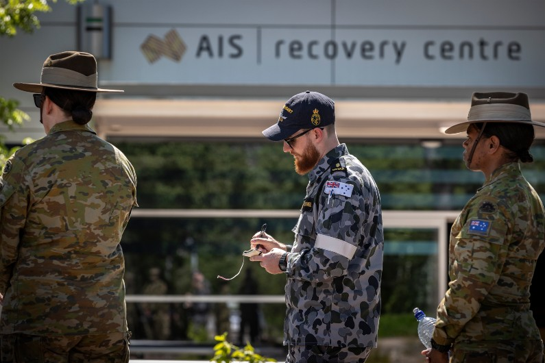 AIS joins forces with army to build athletes' resilience