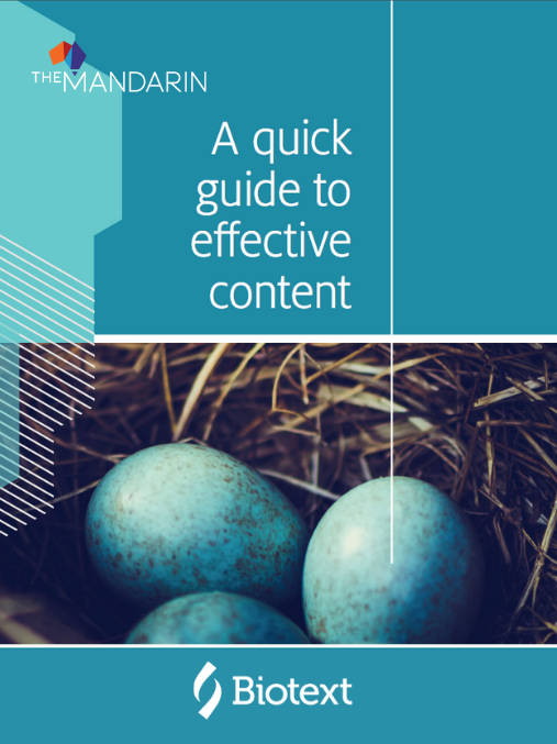 eBook: A quick guide to effective content image