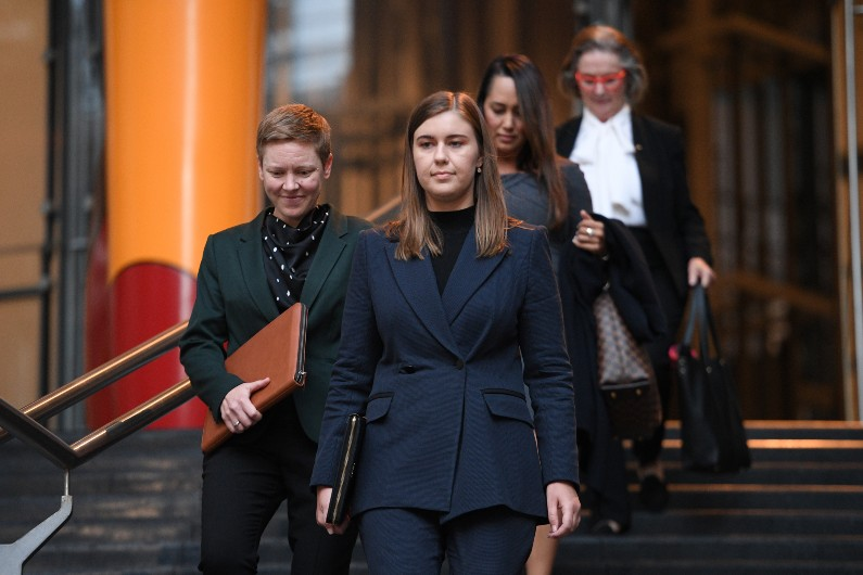 DPP receives Brittany Higgins evidence
