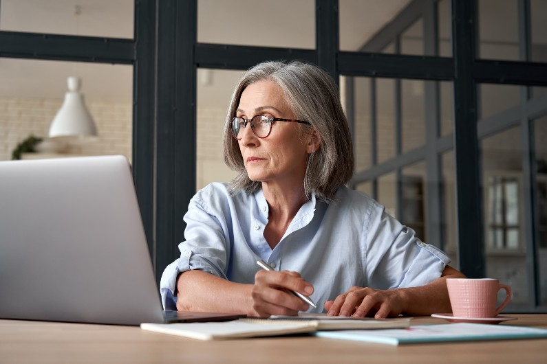 Only 49% of Australians 65 and older are retired, compared to 60% in 2018.