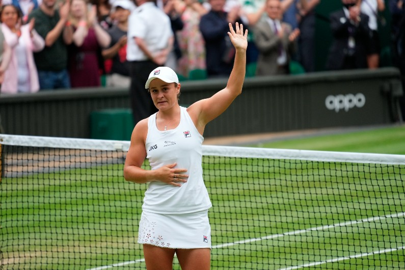 Ash Barty's Wimbledon win is an historic moment for Indigenous people and women insport