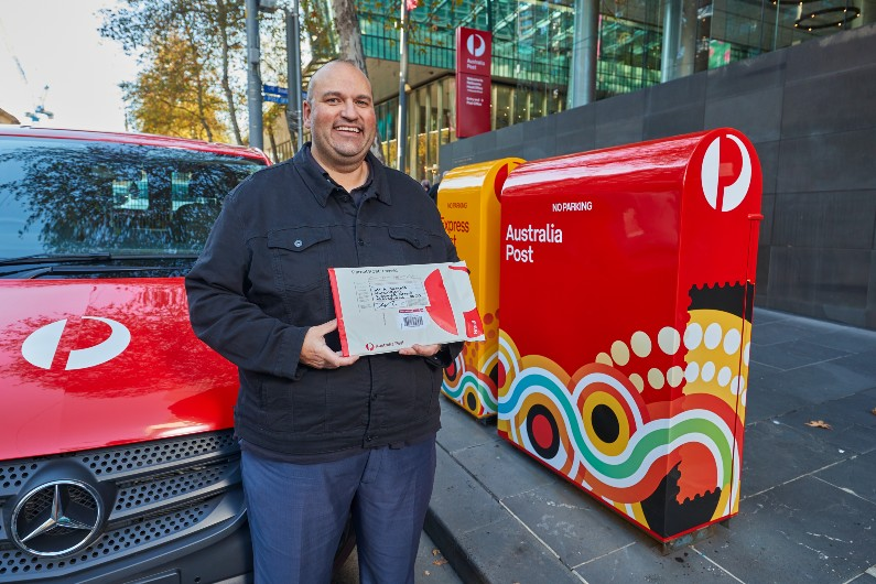 New AusPost packaging makes space for traditional place names