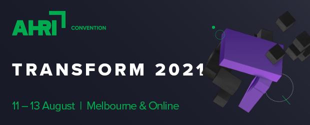 AHRI CONVENTION TRANSFORM 2021 image