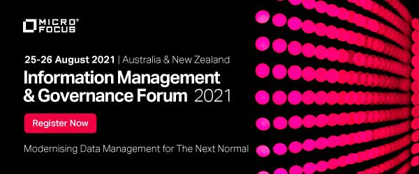 Information Management & Governance (IM&G) Forum 2021 image