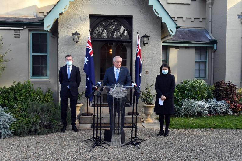 PM 'upgrades' federal support for NSW
