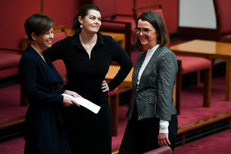 Australian MPs can opt to participate in one-hour sexual harassment training